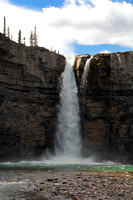 Cascade Waterfall - Alberta
