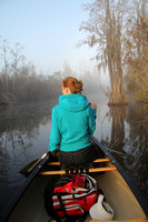 Canoeing Through a Southern Swamp