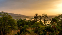 Chagres River in Panama at Dawn