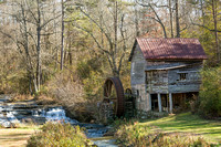 Historic Old Grist Mill in Northern Georgia
